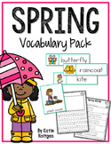 Spring Vocabulary Pack