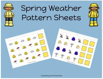 Spring Weather Pattern Mats