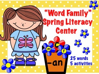 Spring Word Family Literacy Center