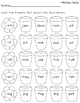 Spring Word Family Worksheets