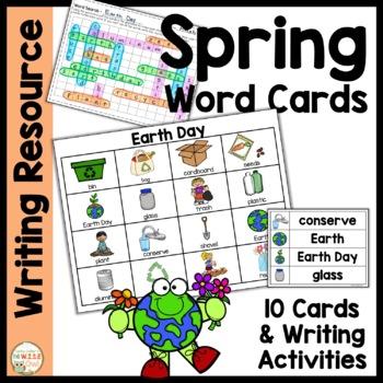 Word Cards:  Spring BUNDLE