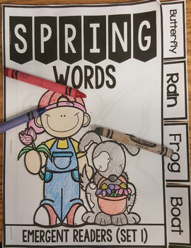 Spring Words and MORE!