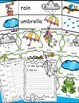 Spring Words Math and Literacy Activies Bundle