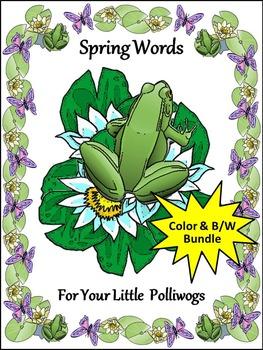 Spring Words Activities
