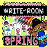 Spring Writing Write the Room