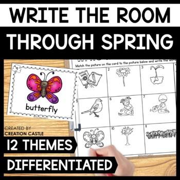 Spring Write the Room Bundle