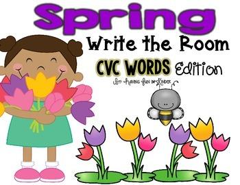 Spring Write the Room - CVC Edition