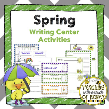 Spring Writing Center Activites