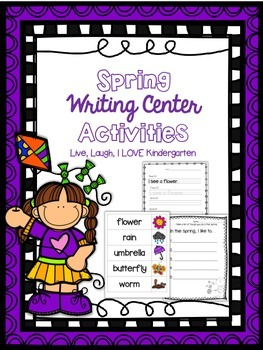 Spring Writing Center Actvities