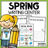 Spring Writing Center #kinderfriends