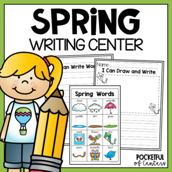 Spring Writing Center Mini-Packet