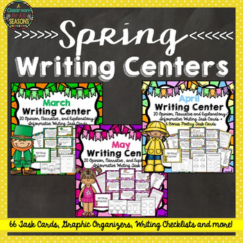 Spring Writing Centers Bundle