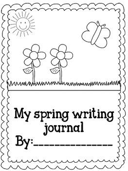 Spring Writing Journal