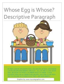 Spring Writing Lesson
