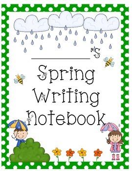 Spring Writing Notebook