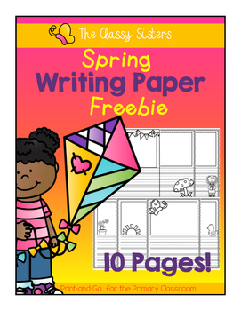 Spring Writing Paper Freebie (Kindergarten)