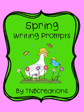 Spring Writing Prompts Worksheets