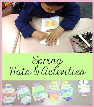 Spring Activities ~ preschool, kindergarten, first grade