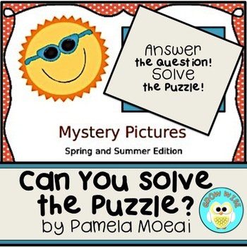 Spring and Summer Mystery Pictures (Interactive PowerPoint