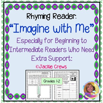 """Rhyming Reader, """"Imagine with Me"""" With Phonics, Writing, a"""