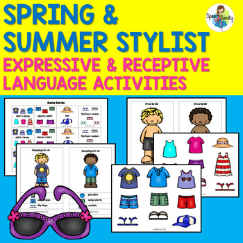 Spring and Summer Stylist: Expressive & Receptive Language