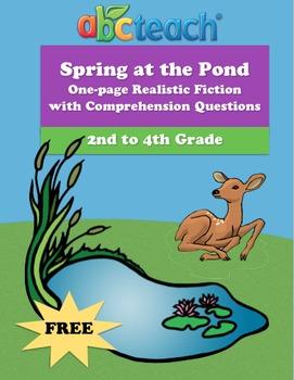 Spring at the Pond - Fiction Reading Comprehension - Eleme