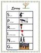 Spring Acrostic gross motor/brain break exercises
