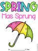 Spring has Spring {class book freebie!}