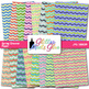 Spring in Blossom Chevron Paper {Scrapbook Backgrounds for