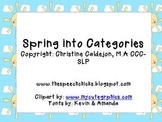 Spring into Categories