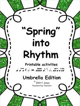 """""""Spring"""" into Rhythm 1 - Umbrella edition"""