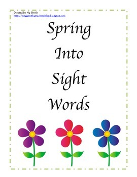 Spring into Sight Words