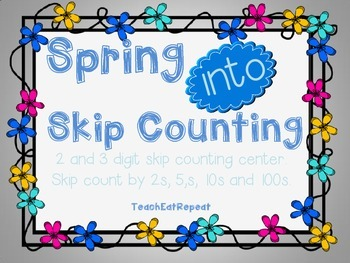 Spring into Skip Counting