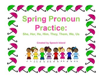 Spring into Subjective and Objective Pronoun Practice