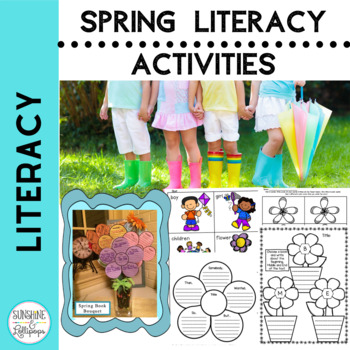 Spring is Here Spring Literacy Stations Aligned with Commo