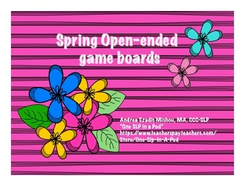Spring open-ended game boards