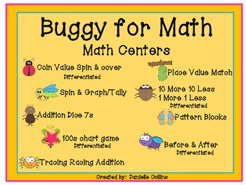 Spring/Buggy for Math & Literacy Centers