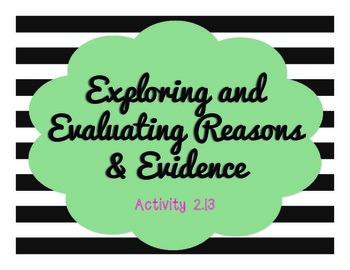 Springboard - 7th Grade ELA - BUNDLE - Activities 2.13 - 2.16