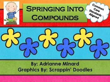Springing Into Compound Words Scoot for First, Second, or