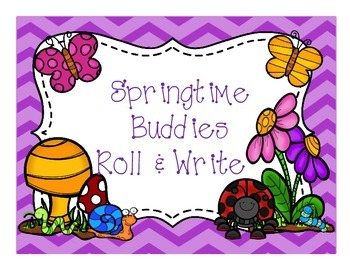 Springtime Buddies  Roll & Write