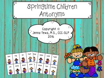 Springtime Children Antonyms