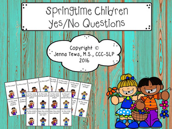 Springtime Children Yes/No Questions