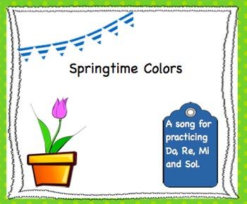 Springtime Colors - Do, Re, Mi, and Sol