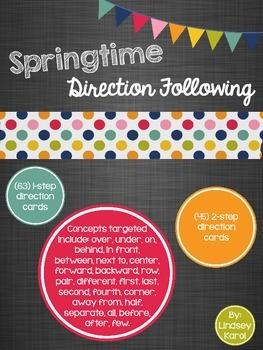 Springtime Direction Following