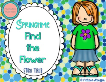 Springtime Find the Flower {Tika Tika}
