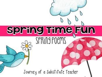 Spring Poems Pack