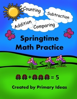 Springtime Math Practice