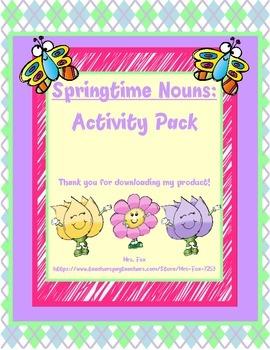 Springtime Noun Activity Bundle *FREEBIE*