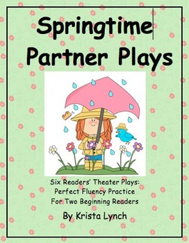 Springtime Partner Plays with Corresponding Puppets!