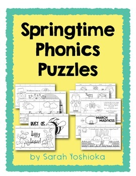 Springtime Phonics Puzzles